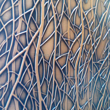 CARB P2 EMBOSSED 3D MDF PANELS FOR WALL COVERING BOARD