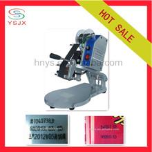 Paper/plastic bag hand heat coding machine