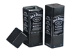 caja de lata cuadrada en relieve para el whisky