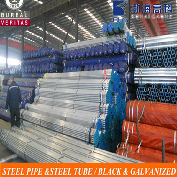 Pre-Galvanized and hot dip galvanised round steel pipes for buliding material