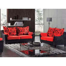 2015 latest modern fabric recliner sofa /manufactured homes philippines