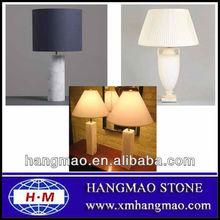 2013 morden mesa de mármol de la lámpara