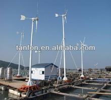 De alta potencia 2kw3kw generador de energía eólica/de <span class=keywords><strong>turbina</strong></span> de viento generador de imán permanente/3kw de energía eólica