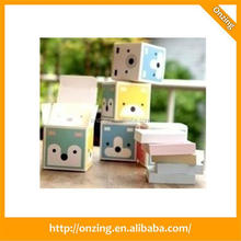 Fashion popular cube cufflink box