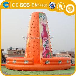 Giant Inflatable Orange Climbing Game, inflatable Climbing Course, inflatable sport game for adult