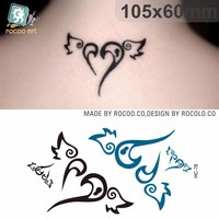 HC78/Wholesale temporary tattoo sticker natural body art for girls