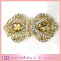 princess Elegant Pearl Rhinestone crown Buckles Embellishment for Wedding Cards