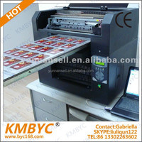 High resolution digital fast speed flatbed gift pvc card printer/printing machinery for gift