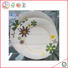 High Quality Customized Paper Plates Wholesale