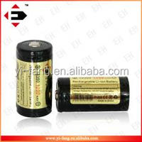EFAN Protected 18350 Rechargeable battery li ion battery 3.7v 1200mah