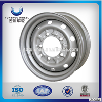 high performance steel wheel rims for passager car popular in China