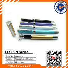 Hot selling and short design pocket pen metal