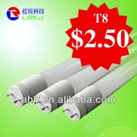 school 8 tube no flickering led tube 8 china