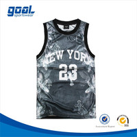 2015 Most popular breathable fashionable european sublimation grey basketball jersey