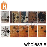 Retro Flip Leather Case for iPad Mini 2 Retina with Smart Wake Up/Sleep Function