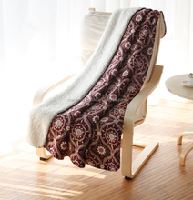 High quality hot sale Flannel sherpa Blanket