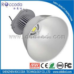 high quality epistar/bridgelux 50W 80W 100W 120W 150W 200W led high bay light/car workshop light 80w