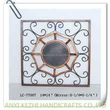 LC-77007 unique square wall iron sculptures