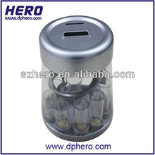 Hot sell digital acrylic money box with coin counter