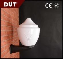 GD024-B-300-W1-C Opal 250mm anti-UV wall light cover/ acrylic plastic garden doorway lighting zhongshan wholesale supplier