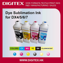 Dye Sublimation Ink for Mimaki JV2/JV22/JV4/JV3/JV5 Roland 600/540/740/RS540/RS640 Mutoh 6000/8000/8100 Printer