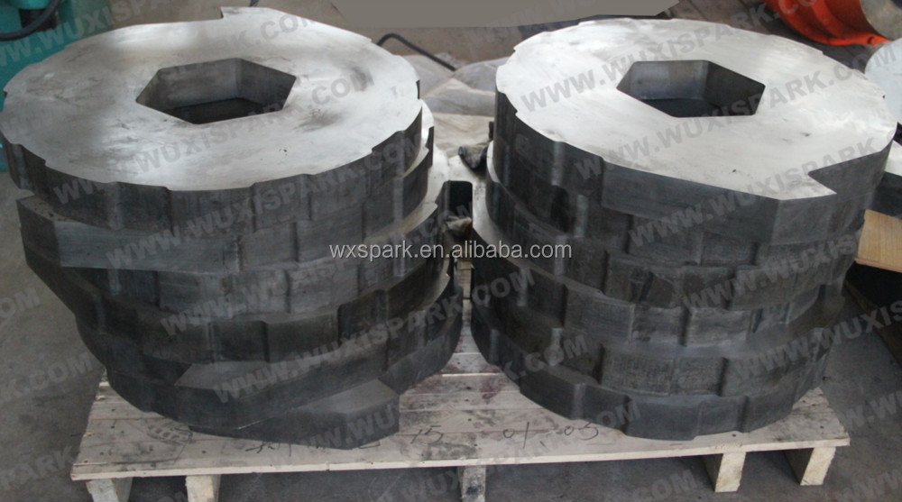 Good price round shredder blades and knives for tyre shredder recycling machi - Machine pour recycler le plastique ...