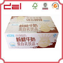 Customized wax corrugated packaging box