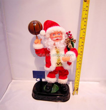 Santa Claus playing basketball YHS41