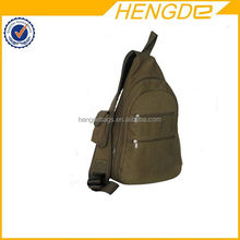 Updated hot selling branded men canvas sling bag
