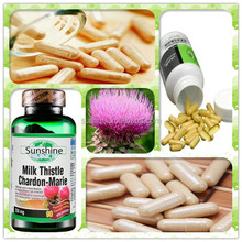 health food 100% natural Herbal Extract silybum/silymarin milk thistle p.e. powder with Protect Liver function