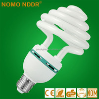 2015 hotselling 75w Flower Shape energy saving light lamps bulb in China