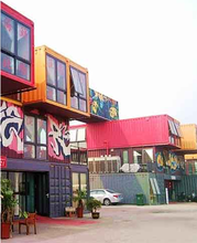 2015 commercial modified container living house for student dormitory / container house villa resort