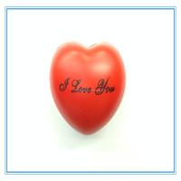 2015 new product anti stress ball heart shaped stress ball