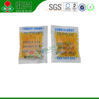 Water silica drying absorbent bags