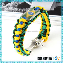 The newest high quality parachute survival bracelet wholesale,cheap survival bracelets,bracelet hand chain for men