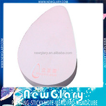 rain drop shaped fancy sticky notes printed yx21