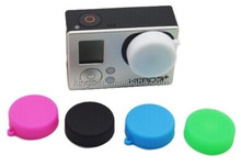 Protective camera lens Silicone Cap/Case for Go pro