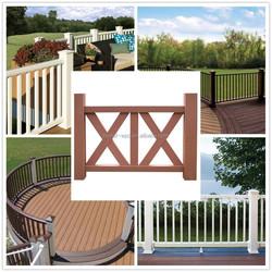1.8mx1.2m wpc decorative dog fences outdoor dog fence temporary dog fence