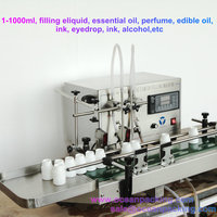 small scale automatic perfume filler machine with two heads
