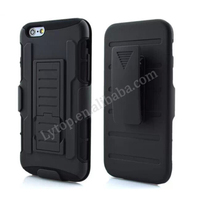 protective Holster Belt Clip hard back phone cover case for iPhone 5 5S