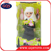 14 inch muslim sexy girl doll with ic