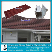 Made In China High Quality Sun Stone Coated Metal Roofing Tile