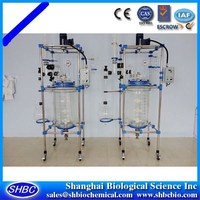 100l Jacketed Glass Laboratory Pyrex Reactor