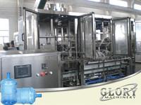 2015 new 1200BPH rotate automatic 5 gallon water bottle filling machine