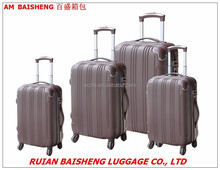 BS2009 ABS trolley cases&bags/luggage/Zip luggage/Cabin size suitcase