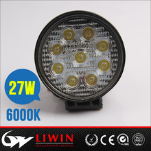liwin New arrival 27w liwin led work light battery work lights for UTV SUV 4WD used cars sale in germany