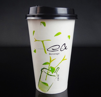 pe coated paper cup blank paper cups for hot coffee
