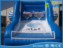 sport training inflatable basketball goal / inflatable basketball free throw / inflatable basketball goal