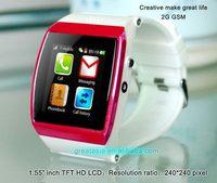 New style professional z1 smart latest wrist watch mobile phone