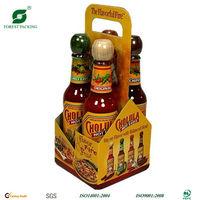 Custom Printed 6 Wine Bottle Carrier